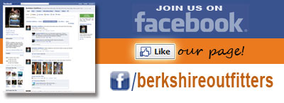Join Berkshire Outfitters on Facebook!